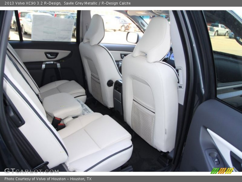 Savile Grey Metallic / R-Design Calcite 2013 Volvo XC90 3.2 R-Design