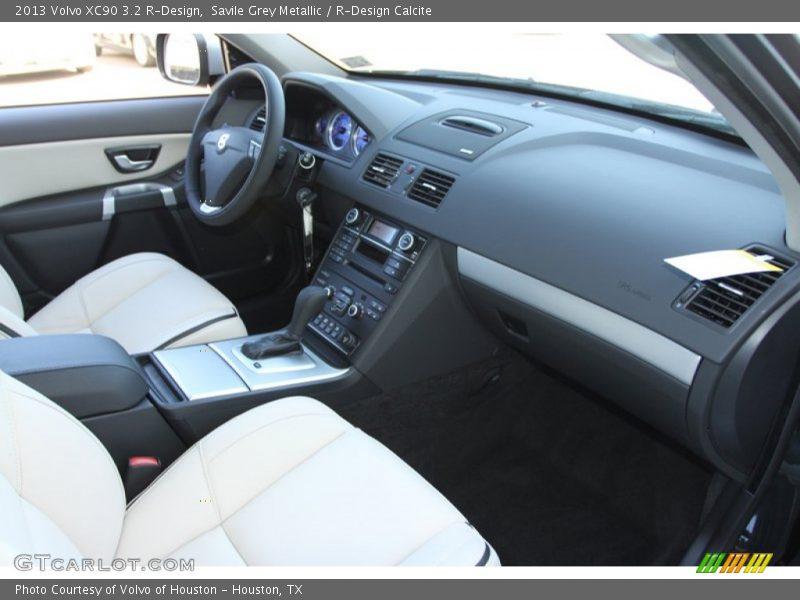 Savile Grey Metallic / R-Design Calcite 2013 Volvo XC90 3.2 R-Design