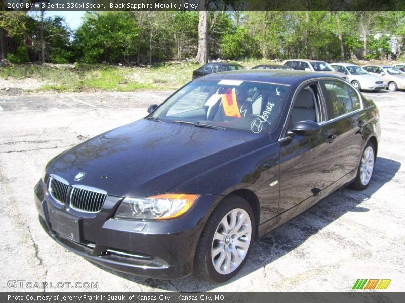 2006 bmw 3 series 330xi sedan in black sapphire metallic. Black Bedroom Furniture Sets. Home Design Ideas