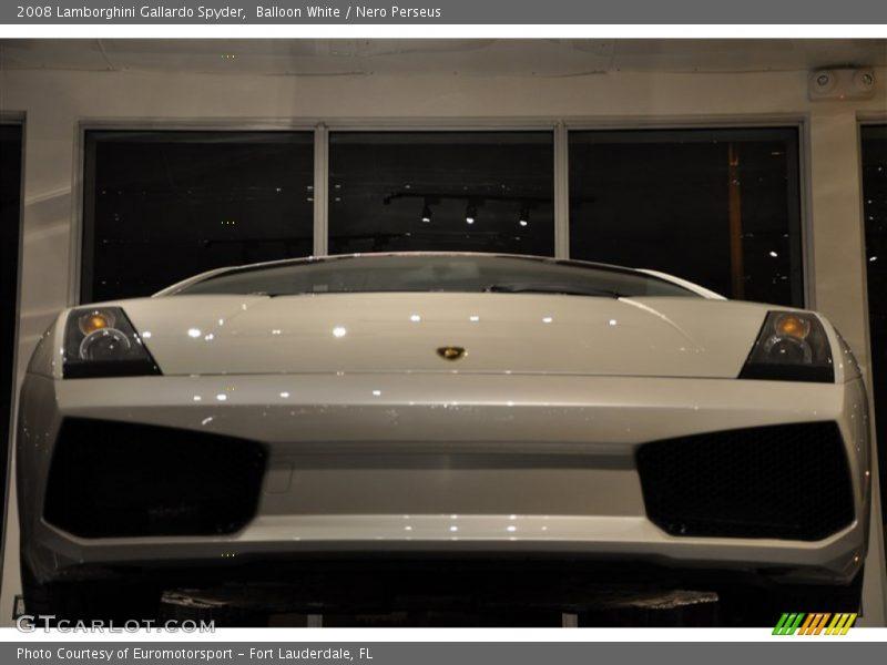 Balloon White / Nero Perseus 2008 Lamborghini Gallardo Spyder