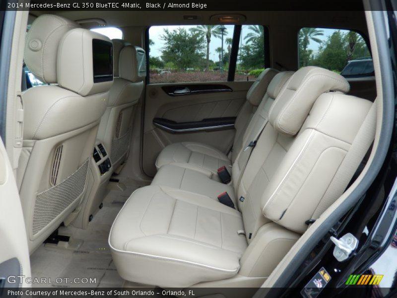 Rear Seat of 2014 GL 350 BlueTEC 4Matic