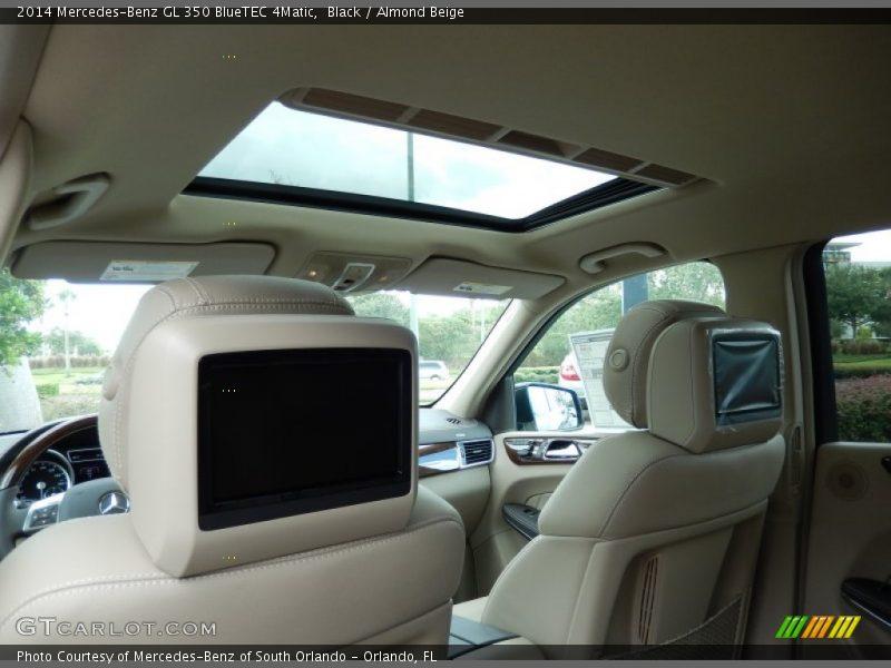 Sunroof of 2014 GL 350 BlueTEC 4Matic