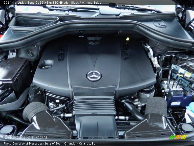 2014 GL 350 BlueTEC 4Matic Engine - 3.0 Liter DOHC 24-Valve BlueTEC Turbo-Diesel V6