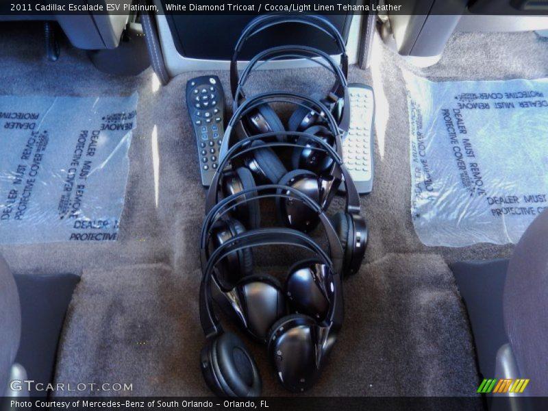 Entertainment System of 2011 Escalade ESV Platinum