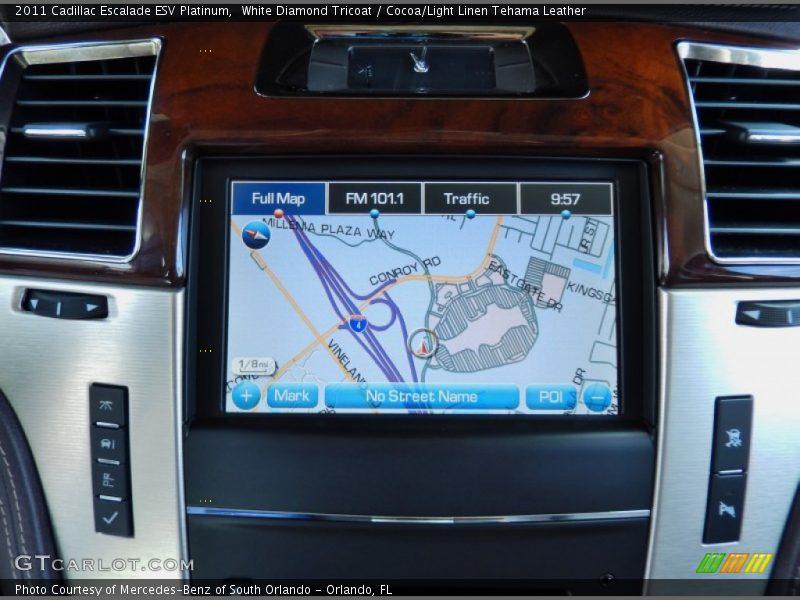 Navigation of 2011 Escalade ESV Platinum