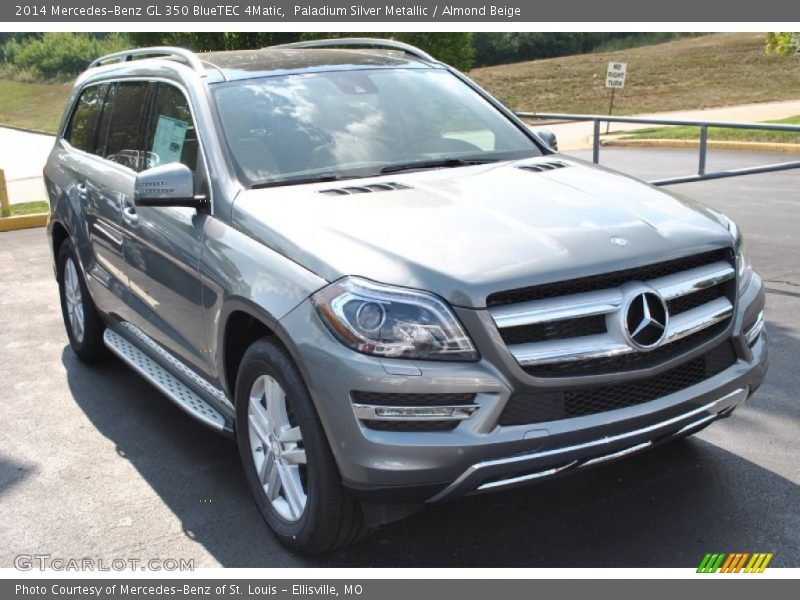Paladium Silver Metallic / Almond Beige 2014 Mercedes-Benz GL 350 BlueTEC 4Matic