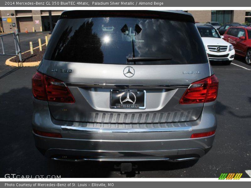 Paladium Silver Metallic / Almond Beige 2014 Mercedes-Benz GL 350 BlueTEC 4Matic