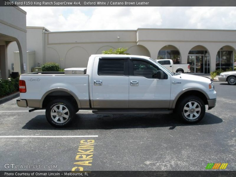 2005 Ford F150 King Ranch Supercrew 4x4 In Oxford White