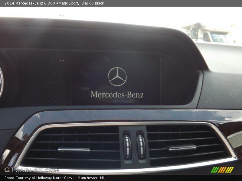 Black / Black 2014 Mercedes-Benz C 300 4Matic Sport