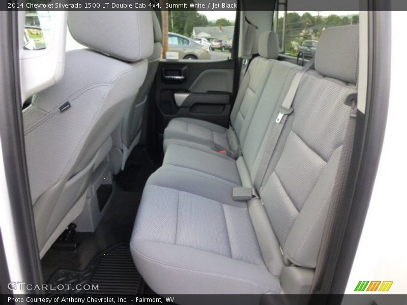 Summit White / Jet Black 2014 Chevrolet Silverado 1500 LT Double Cab 4x4