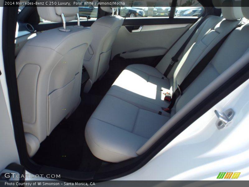 Polar White / Almond/Mocha 2014 Mercedes-Benz C 250 Luxury