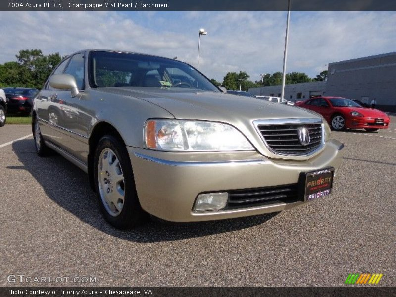 2004 acura rl 3 5 in champagne mist pearl photo no. Black Bedroom Furniture Sets. Home Design Ideas