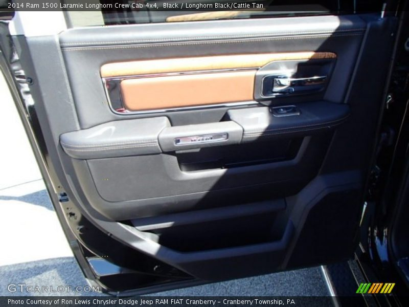 Black / Longhorn Black/Cattle Tan 2014 Ram 1500 Laramie Longhorn Crew Cab 4x4