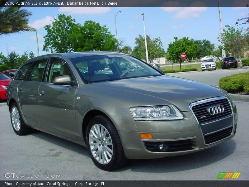2006 audi a6 3 2 quattro avant in dakar beige metallic photo no 8544252. Black Bedroom Furniture Sets. Home Design Ideas