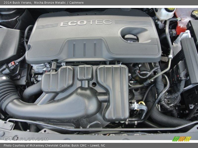 2014 Verano  Engine - 2.4 Liter DI DOHC 16-Valve VVT ECOTEC 4 Cylinder