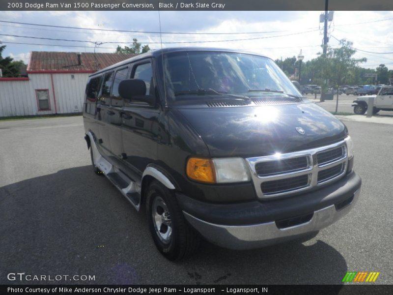 Dodge Conversion Van >> 2003 Dodge Ram Van 1500 Passenger Conversion in Black Photo No. 85824805 | GTCarLot.com