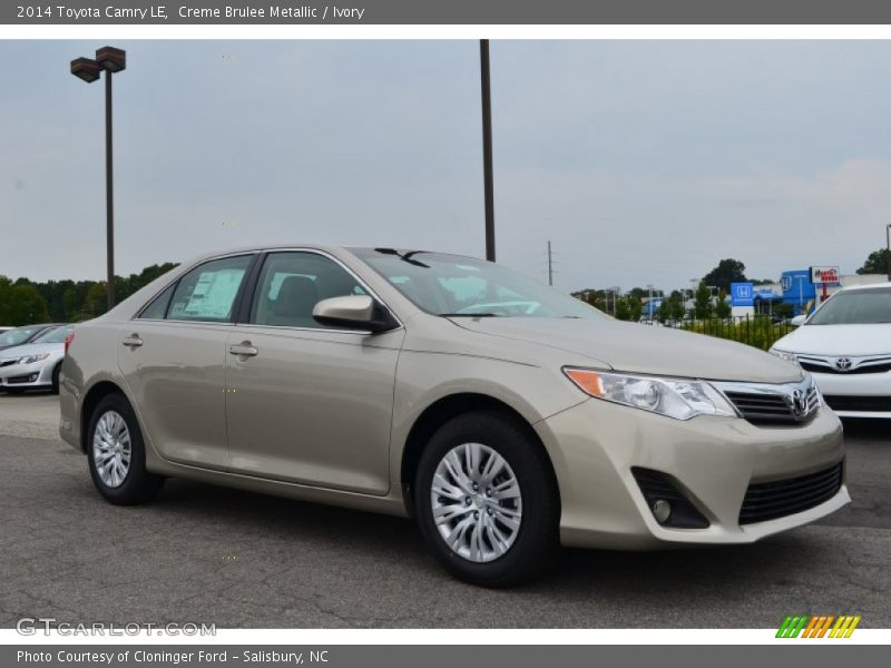 2014 toyota camry le in creme brulee metallic photo no 85909845. Black Bedroom Furniture Sets. Home Design Ideas