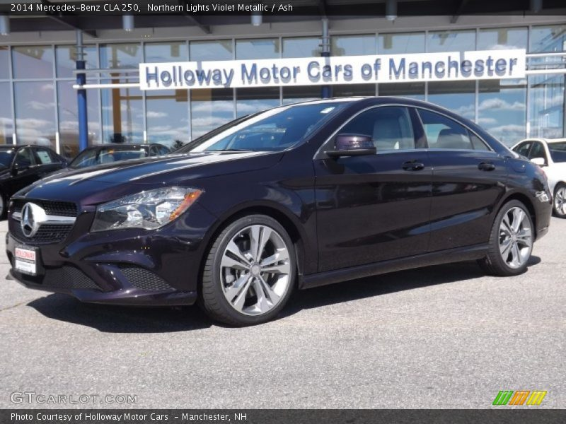 Northern Lights Violet Metallic / Ash 2014 Mercedes-Benz CLA 250
