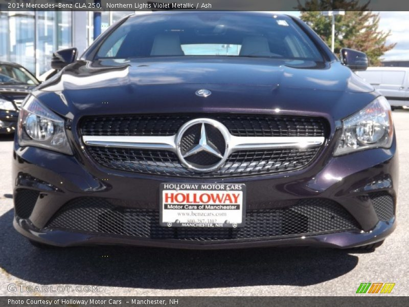 Northern Lights Violet Metallic / Ash 2014 Mercedes-Benz CLA 250