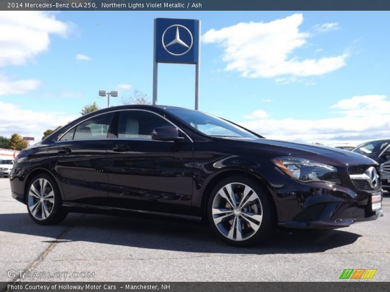 2014 CLA 250 Northern Lights Violet Metallic