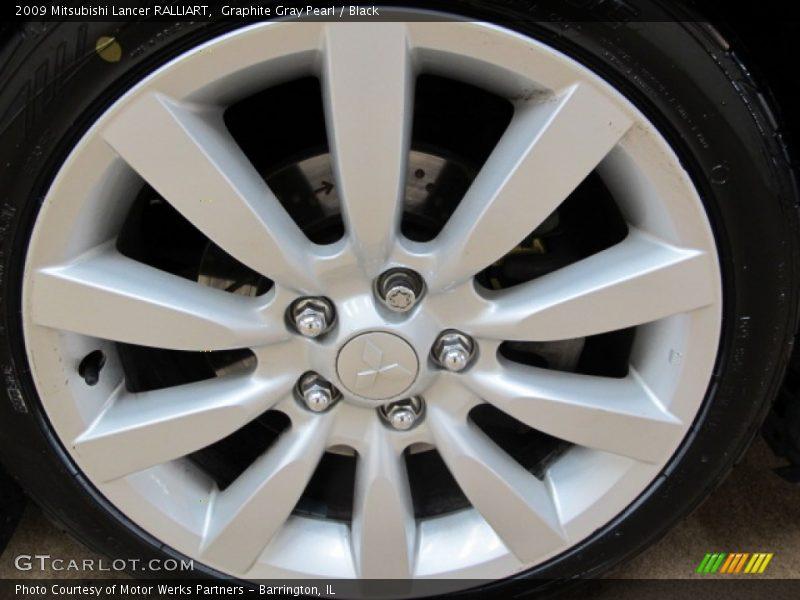 2009 Mitsubishi Lancer Ralliart In Graphite Gray Pearl Photo No 86437397 Gtcarlot Com