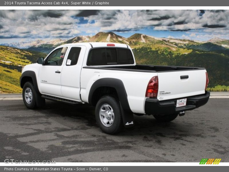 2014 toyota tacoma access cab 4x4 in super white photo no 86525584. Black Bedroom Furniture Sets. Home Design Ideas