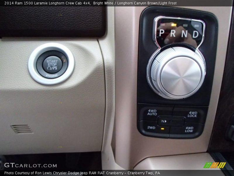 2014 1500 Laramie Longhorn Crew Cab 4x4 8 Speed Automatic Shifter