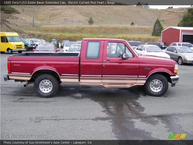 1995 ford f150 eddie bauer extended cab in electric currant red pearl photo no 8681624. Black Bedroom Furniture Sets. Home Design Ideas