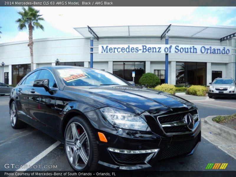 Black / AMG Black 2014 Mercedes-Benz CLS 63 AMG S Model