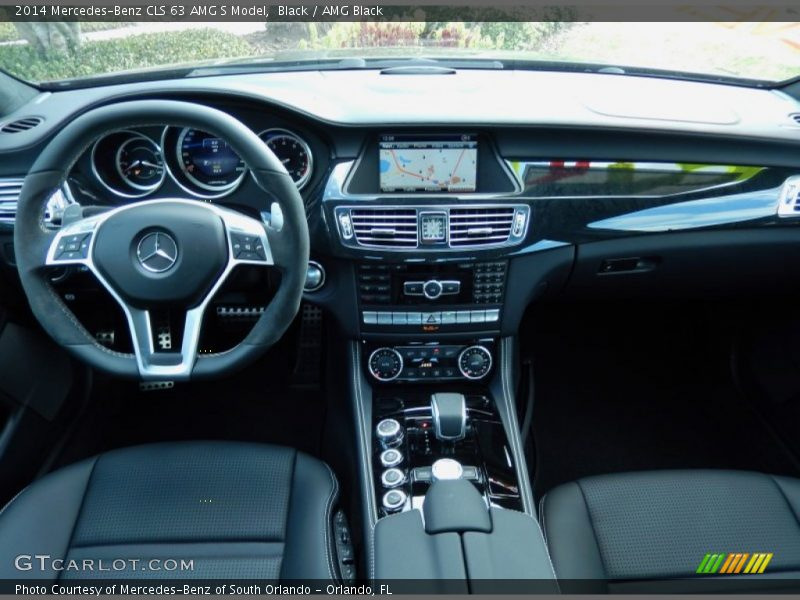 Dashboard of 2014 CLS 63 AMG S Model