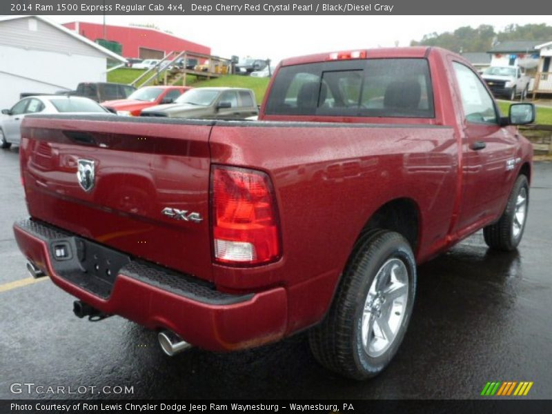 2014 1500 Express Regular Cab 4x4 Deep Cherry Red Crystal Pearl