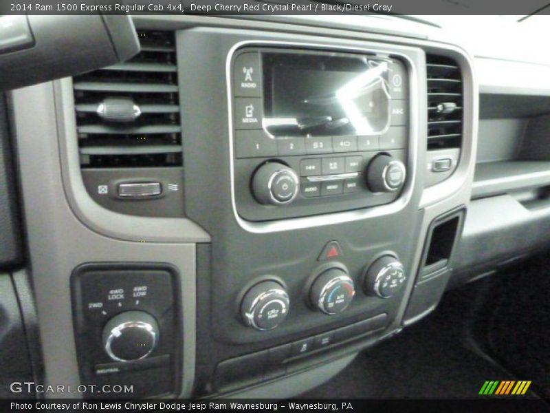 Controls of 2014 1500 Express Regular Cab 4x4