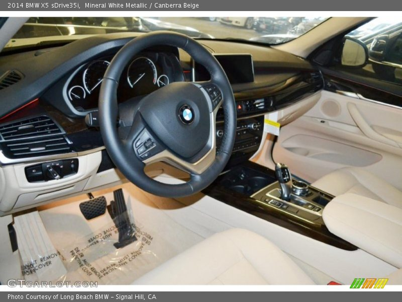 Canberra Beige Interior 2014 X5 Sdrive35i Photo No