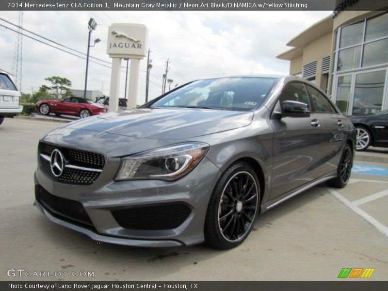 Front 3 4 view of 2014 cla edition 1 photo no 87903424 for Mercedes benz mountain view