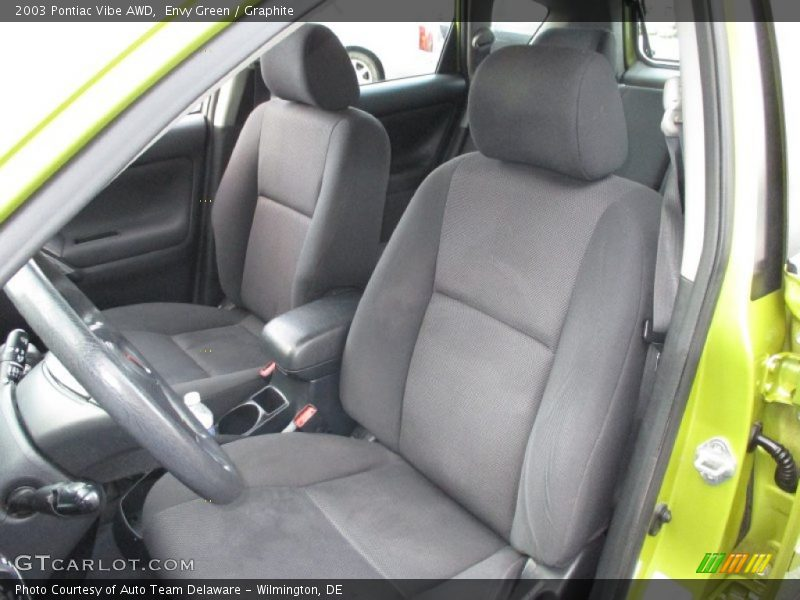 Front Seat of 2003 Vibe AWD