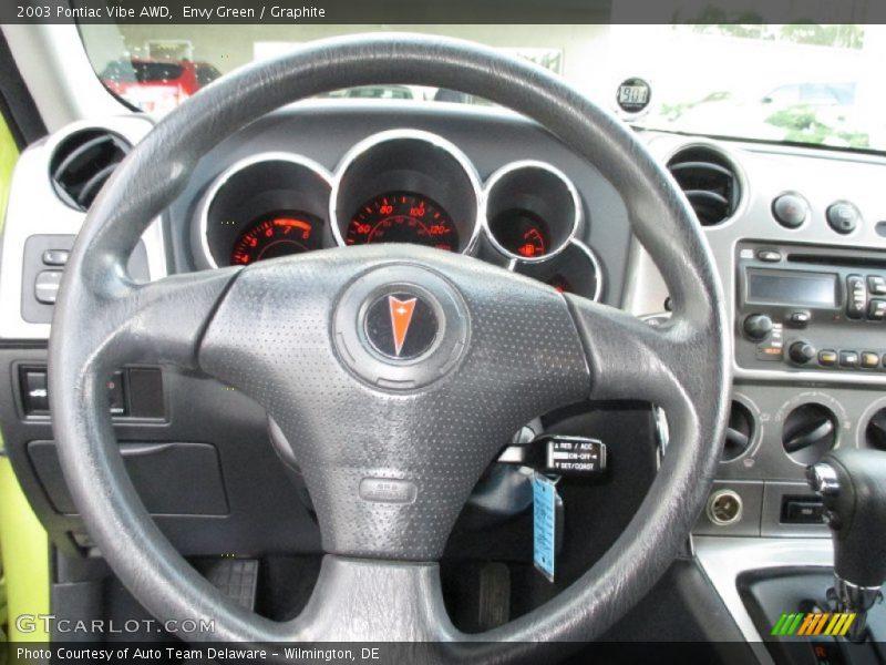 2003 Vibe AWD Steering Wheel