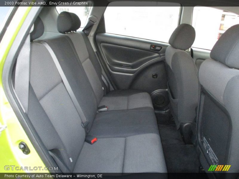 Rear Seat of 2003 Vibe AWD