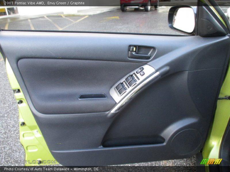 Door Panel of 2003 Vibe AWD