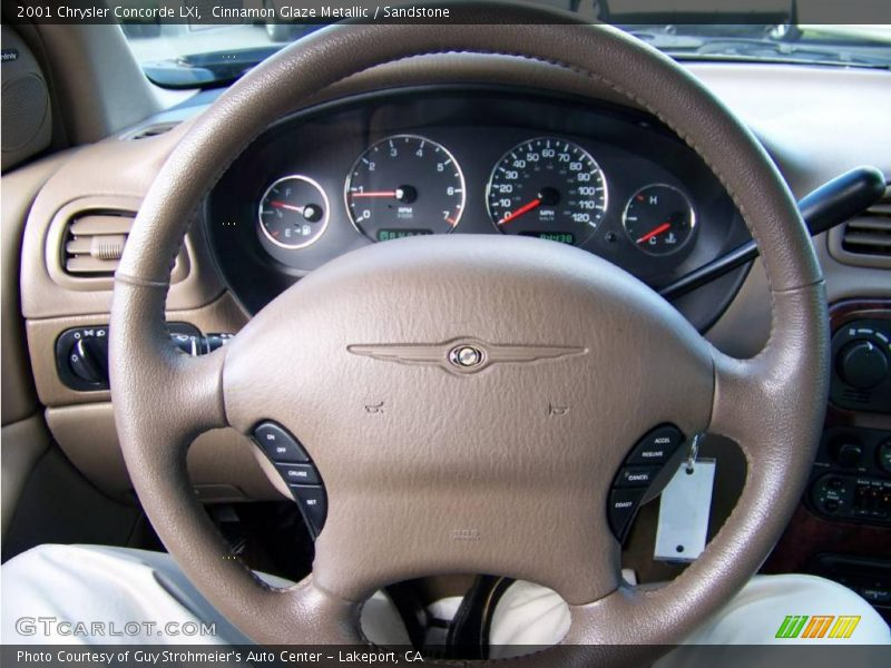 Cinnamon Glaze Metallic / Sandstone 2001 Chrysler Concorde LXi