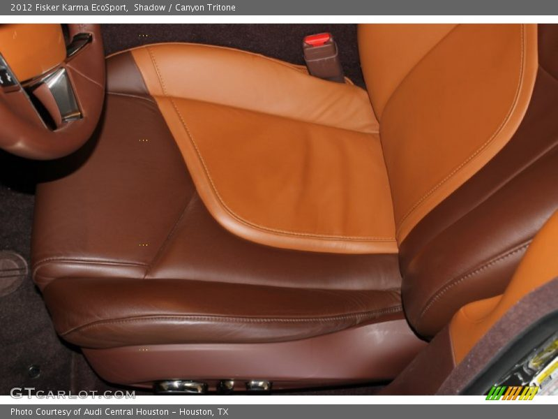 Front Seat of 2012 Karma EcoSport