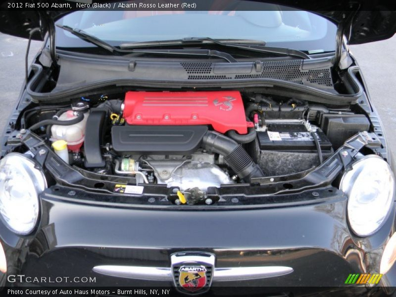 2012 500 Abarth Engine - 1.4 Liter Turbocharged SOHC 16-Valve MultiAir 4 Cylinder