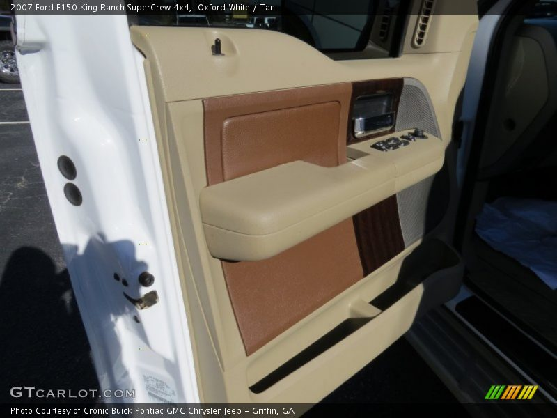 Oxford White / Tan 2007 Ford F150 King Ranch SuperCrew 4x4