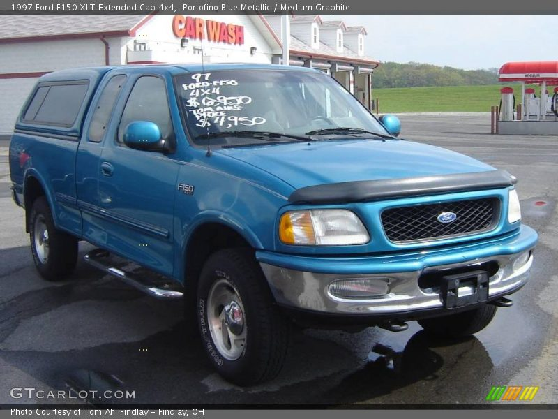 1997 ford f150 xlt extended cab 4x4 in portofino blue. Black Bedroom Furniture Sets. Home Design Ideas