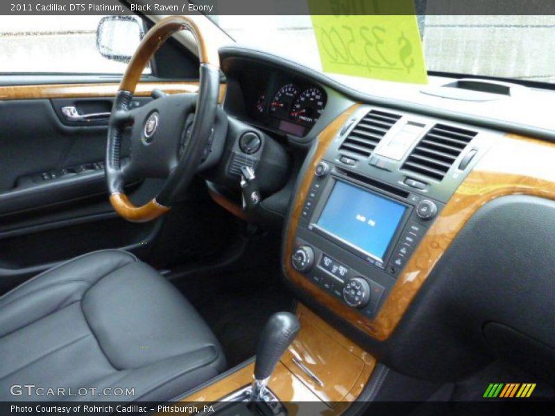 Black Raven / Ebony 2011 Cadillac DTS Platinum