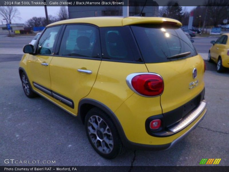 2014 500L Trekking Giallo (Yellow)