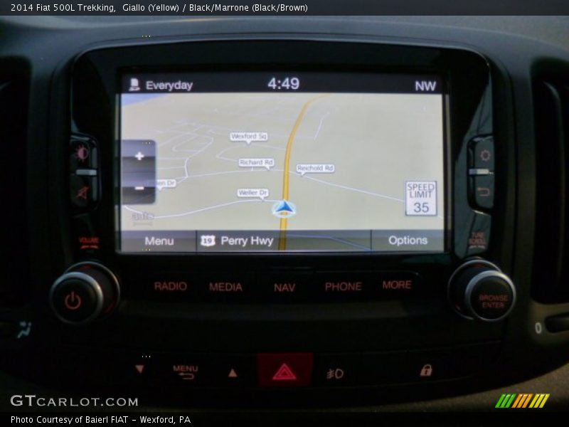 Navigation of 2014 500L Trekking