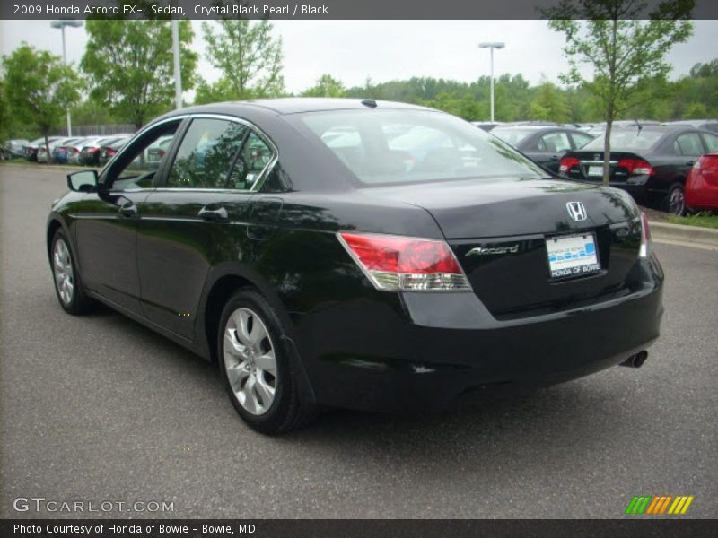 2009 honda accord ex l sedan in crystal black pearl photo. Black Bedroom Furniture Sets. Home Design Ideas
