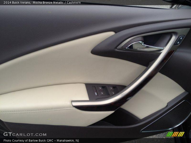 Mocha Bronze Metallic / Cashmere 2014 Buick Verano