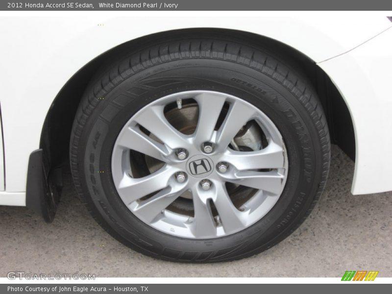2012 Accord SE Sedan Wheel
