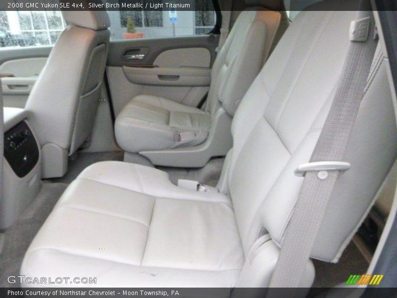 Rear Seat of 2008 Yukon SLE 4x4